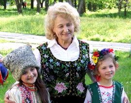 Король Ірина Іванівна - художній керівник ансамблю Джерельце