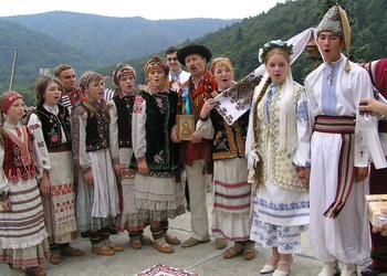 Стародавнє бойківське весілля