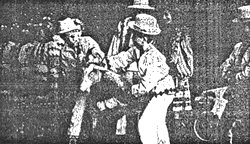 Фрагмент з виступу фольклорно-етнографічного ансамблю Джерельце