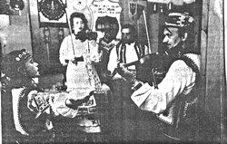 Зразковий дитячий фольклорно-етнографічний ансамбль Джерельце Моршинської школи мистецтв на міжнародному фестивалі у Новому Сончі
